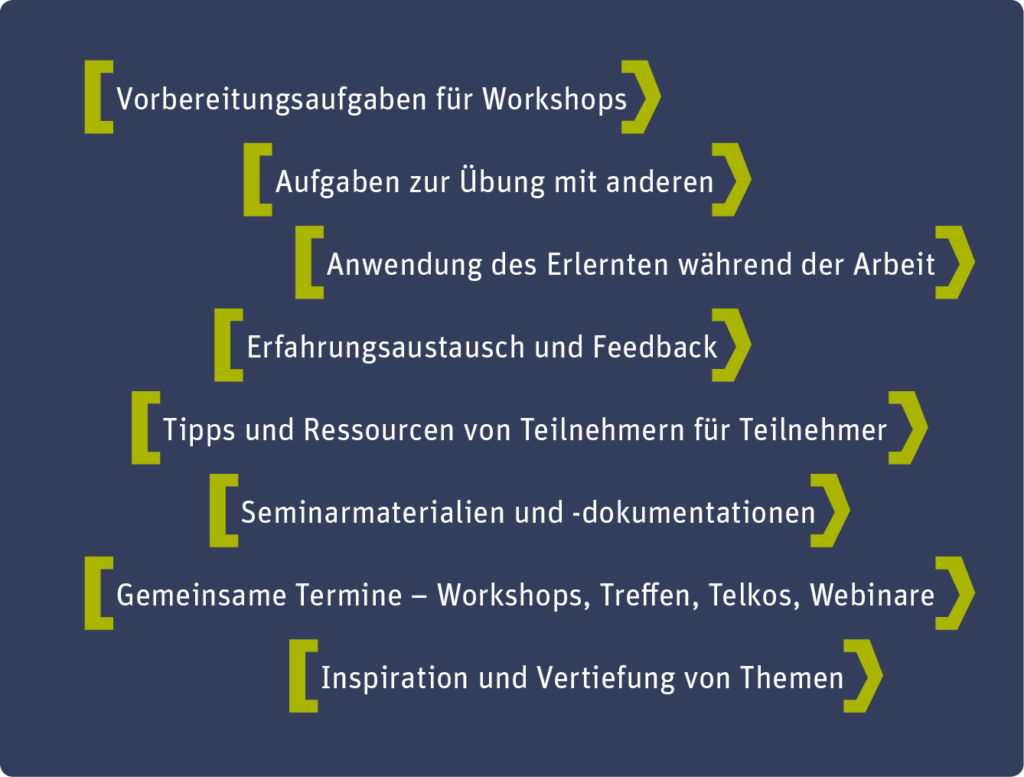 Blended Learning Plug & Play Entwicklungsprogramme